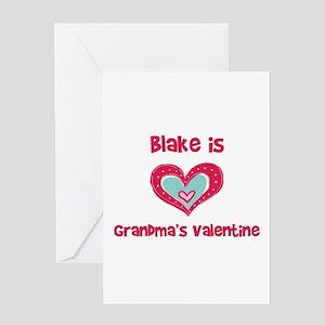 Blake is Grandma's Valentine Greeting Card