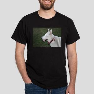 White German Shepherd Dark T-Shirt