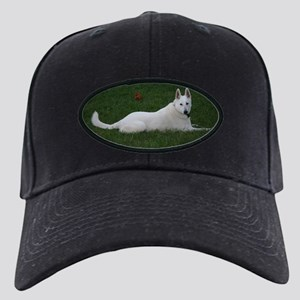 White Shepherd Black Cap