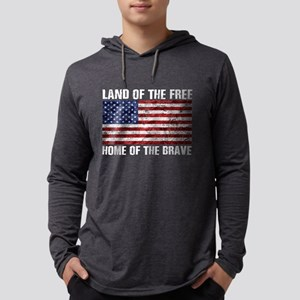 Land Of The Free,Home Of The B Long Sleeve T-Shirt