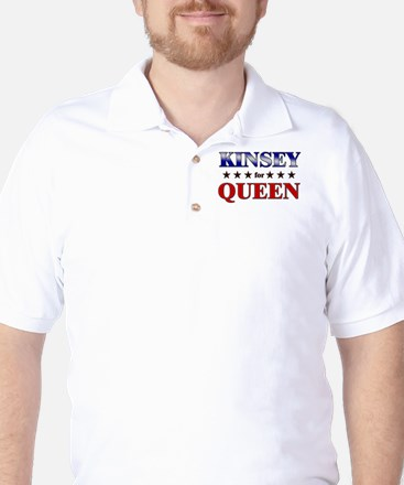KINSEY for queen Golf Shirt