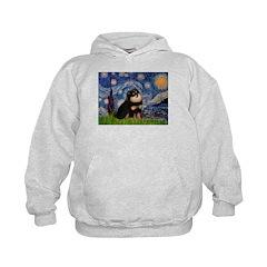 Starry Night / Pomeranian(b&t) Hoodie