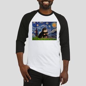 Starry Night / Pomeranian(b&t) Baseball Jersey