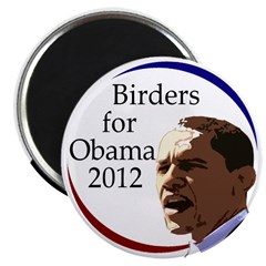 Birders for Obama 2012 Fridge Magnet
