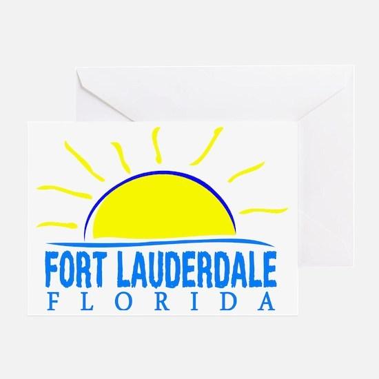 Cool South florida bulls Greeting Card