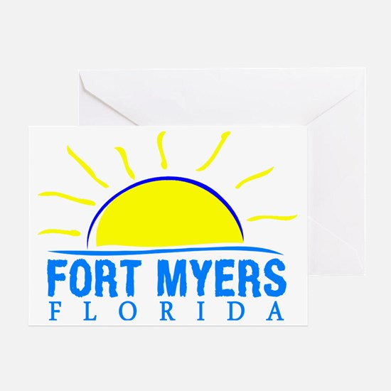 Unique Ft myers Greeting Card
