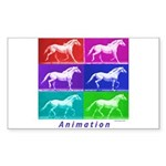 Animation Rectangle Sticker