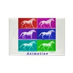 Animation Rectangle Magnet (10 pack)