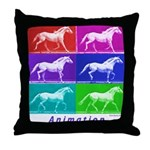 Animation Throw Pillow