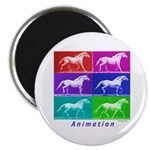 "Animation 2.25"" Magnet (10 pack)"