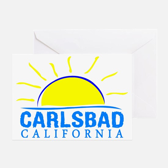 Unique California girl Greeting Card