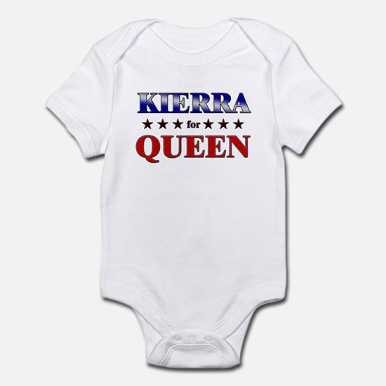 KIERRA for queen Infant Bodysuit