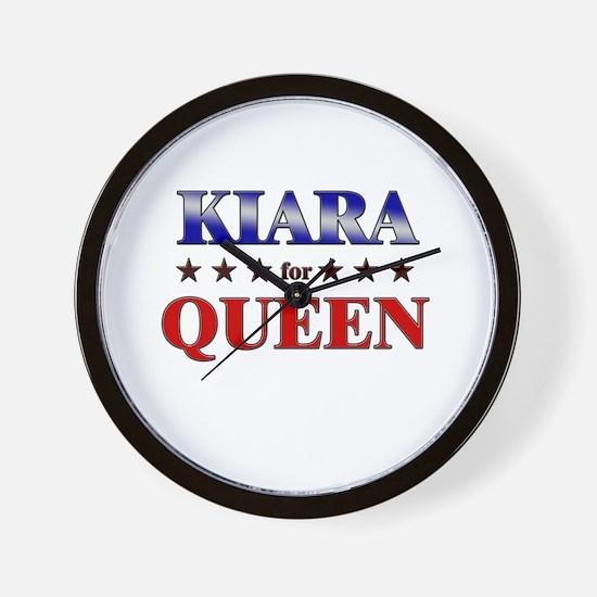 KIARA for queen Wall Clock