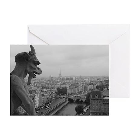 Notre Dame Gargoyle Greeting Cards (Pk of 10)
