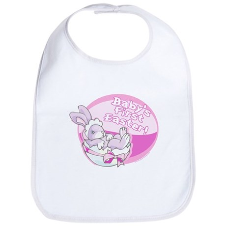 BABY'S FIRST EASTER! (GIRL) Bib