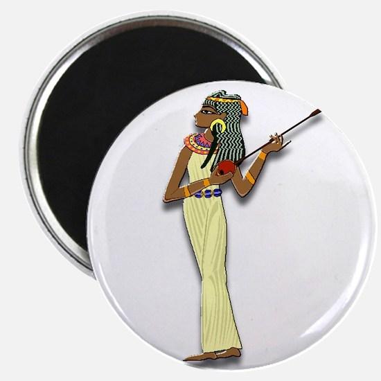 Egyptian Woman Musician Magnet