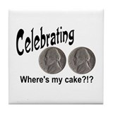 Double nickel birthday Coasters