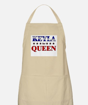 KEYLA for queen BBQ Apron