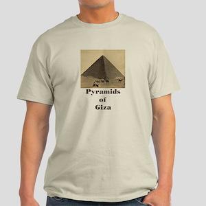 Pyramids of Giza Light T-Shirt