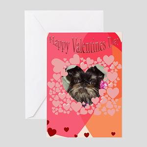 Brussels Griffon Valentine Card