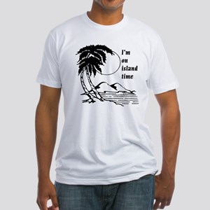 On Island Time Fitted T-Shirt
