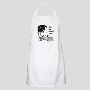 On Island Time BBQ Apron