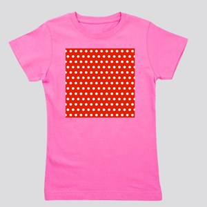 Red and White Polka Dots T-Shirt