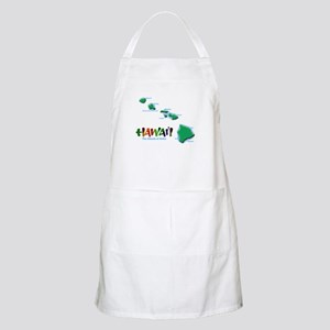 Hawaii Islands BBQ Apron