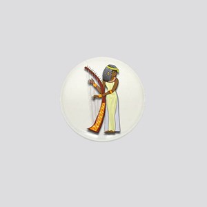 Harpist Mini Button