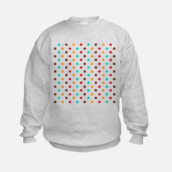 Multi Color Polka Dots Sweatshirt