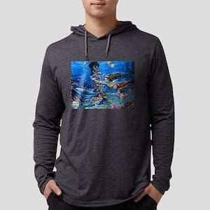 Mermaid And Her Daughter Swimm Long Sleeve T-Shirt