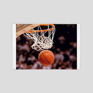 Basketball Scoring 4' x 6' Rug