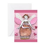 Chocolate Fairy Greeting Card