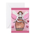 Chocolate Fairy Greeting Card