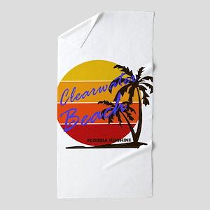 Florida - Clearwater Beach Beach Towel