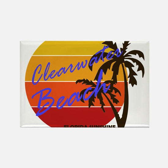 Dolphin clearwater beach florida magnet cafepress florida clearwater beach magnets reheart Choice Image