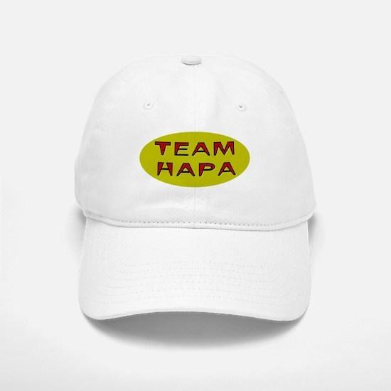 Team Hapa Baseball Baseball Cap