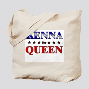 KENNA for queen Tote Bag