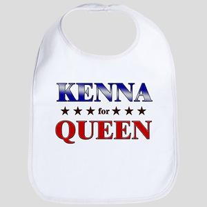KENNA for queen Bib