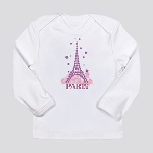 Flower Eiffel 03 Long Sleeve T-Shirt