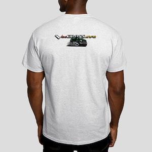 Ash Grey T-Shirt / Dragon Green