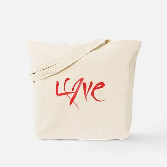 LoveMeRed Tote Bag