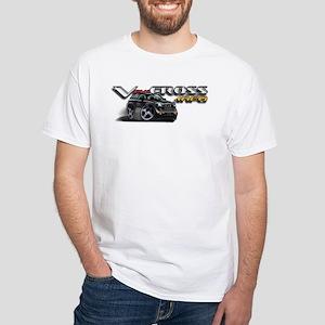 White T-Shirt / Kaiser Silver