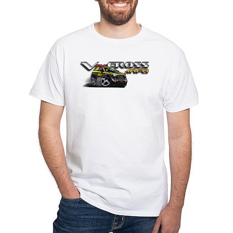 White T-Shirt / Proton Yellow