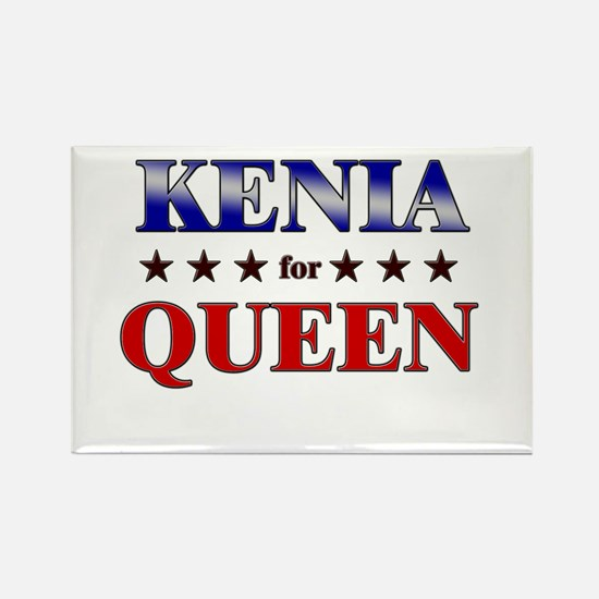 KENIA for queen Rectangle Magnet