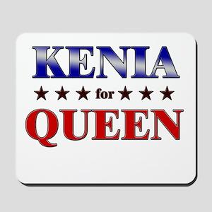 KENIA for queen Mousepad