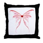 winged heart Throw Pillow