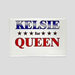 KELSIE for queen Rectangle Magnet