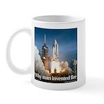 Why man invented fire Mug