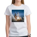 Why man invented fire Women's T-Shirt